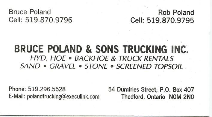 Bruce Poland & Sons Trucking Inc.