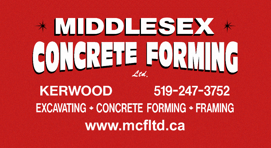 Middlesex Concrete Forming Ltd.
