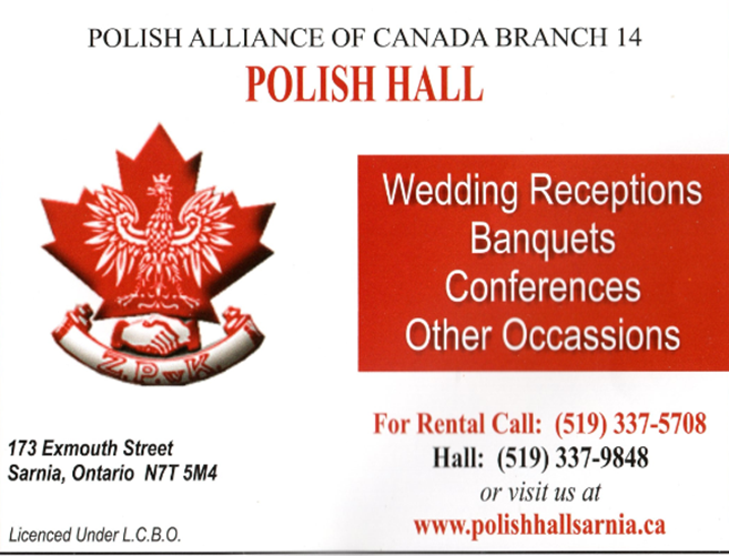 Sarnia Polish Hall