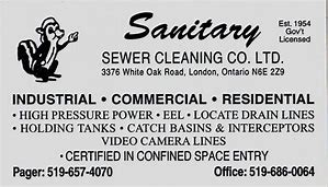Sanitary Sewer Cleaning Co Ltd