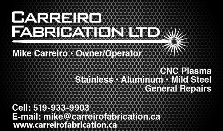Carreiro Fabrication Ltd